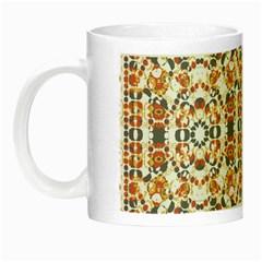 Multicolored Geometric Pattern  Night Luminous Mugs