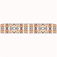 Multicolored Geometric Pattern  Small Bar Mats