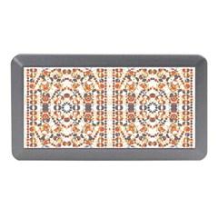 Multicolored Geometric Pattern  Memory Card Reader (mini)