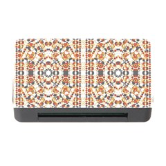 Multicolored Geometric Pattern  Memory Card Reader With Cf