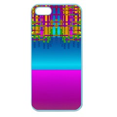 Sky Earth And Star Fall Apple Seamless Iphone 5 Case (color)