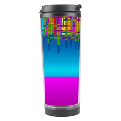 Sky Earth And Star Fall Travel Tumbler