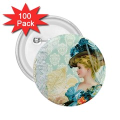 Lady 1112776 1920 2 25  Buttons (100 Pack)
