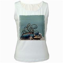 Retro 1107633 1920 Women s White Tank Top