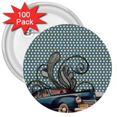 Retro 1107633 1920 3  Buttons (100 Pack)