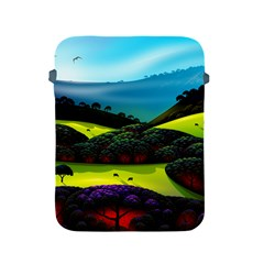 Morning Mist Apple Ipad 2/3/4 Protective Soft Cases