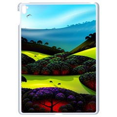 Morning Mist Apple Ipad Pro 9 7   White Seamless Case