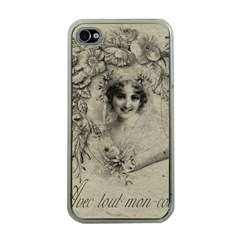 Vintage 1079414 1920 Apple Iphone 4 Case (clear)