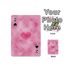 Soft Hearts A Playing Cards 54 (mini)