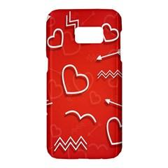 Background Valentine S Day Love Samsung Galaxy S7 Hardshell Case