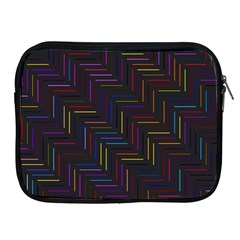 Lines Line Background Apple Ipad 2/3/4 Zipper Cases