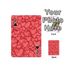 Background Hearts Love Playing Cards 54 (mini)