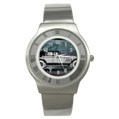 Vintage Car Automobile Auburn Stainless Steel Watch