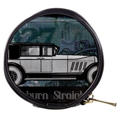 Vintage Car Automobile Auburn Mini Makeup Bags