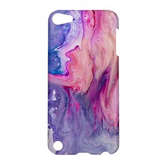 Marbled,ultraviolet,violet,purple,pink,blue,white,stone,marble,modern,trendy,beautiful Apple Ipod Touch 5 Hardshell Case
