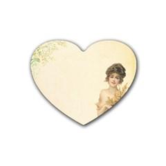 Vintage 1067759 1920 Heart Coaster (4 Pack)