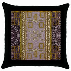 Gothic In Modern Stars And Pearls Throw Pillow Case (black)