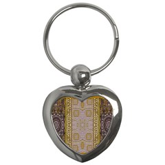 Gothic In Modern Stars And Pearls Key Chains (heart)