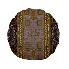 Gothic In Modern Stars And Pearls Standard 15  Premium Round Cushions