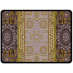 Gothic In Modern Stars And Pearls Double Sided Fleece Blanket (large)