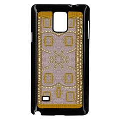 Gothic In Modern Stars And Pearls Samsung Galaxy Note 4 Case (black)