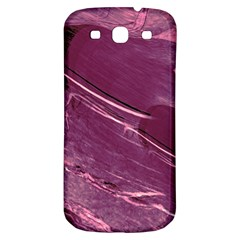 Hot Magenta Abstract Textured Fractal, Inspired By A Butterfly s Wing Samsung Galaxy S3 S Iii Classic Hardshell Back Case