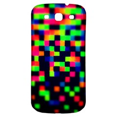 Squares Samsung Galaxy S3 S Iii Classic Hardshell Back Case