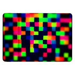 Squares Samsung Galaxy Tab 8 9  P7300 Flip Case