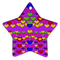 I Love This Lovely Hearty One Ornament (star)