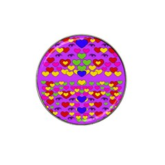 I Love This Lovely Hearty One Hat Clip Ball Marker (4 Pack)