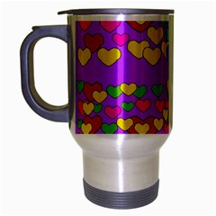 I Love This Lovely Hearty One Travel Mug (silver Gray)