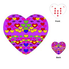 I Love This Lovely Hearty One Playing Cards (heart)