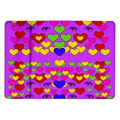 I Love This Lovely Hearty One Samsung Galaxy Tab 10 1  P7500 Flip Case