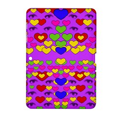 I Love This Lovely Hearty One Samsung Galaxy Tab 2 (10 1 ) P5100 Hardshell Case