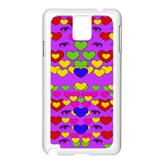 I Love This Lovely Hearty One Samsung Galaxy Note 3 N9005 Case (white)