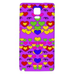 I Love This Lovely Hearty One Galaxy Note 4 Back Case