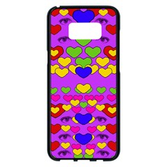 I Love This Lovely Hearty One Samsung Galaxy S8 Plus Black Seamless Case