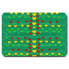 Love Is In All Of Us To Give And Show Large Doormat
