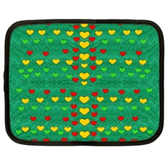 Love Is In All Of Us To Give And Show Netbook Case (large)