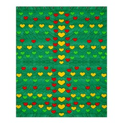 Love Is In All Of Us To Give And Show Shower Curtain 60  X 72  (medium)