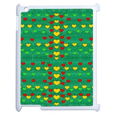Love Is In All Of Us To Give And Show Apple Ipad 2 Case (white)
