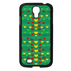 Love Is In All Of Us To Give And Show Samsung Galaxy S4 I9500/ I9505 Case (black)
