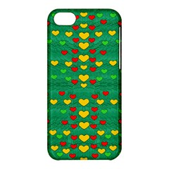 Love Is In All Of Us To Give And Show Apple Iphone 5c Hardshell Case
