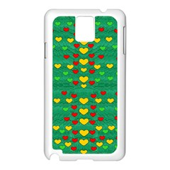 Love Is In All Of Us To Give And Show Samsung Galaxy Note 3 N9005 Case (white)