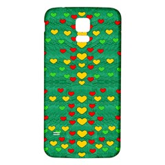 Love Is In All Of Us To Give And Show Samsung Galaxy S5 Back Case (white)
