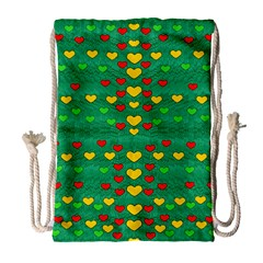 Love Is In All Of Us To Give And Show Drawstring Bag (large)