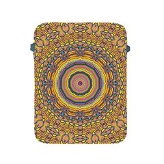 Wood Festive Rainbow Mandala Apple Ipad 2/3/4 Protective Soft Cases