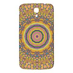 Wood Festive Rainbow Mandala Samsung Galaxy Mega I9200 Hardshell Back Case