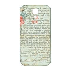 Vintage Floral Background Paper Samsung Galaxy S4 I9500/i9505  Hardshell Back Case