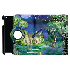 Background Fairy Tale Watercolor Apple Ipad 3/4 Flip 360 Case